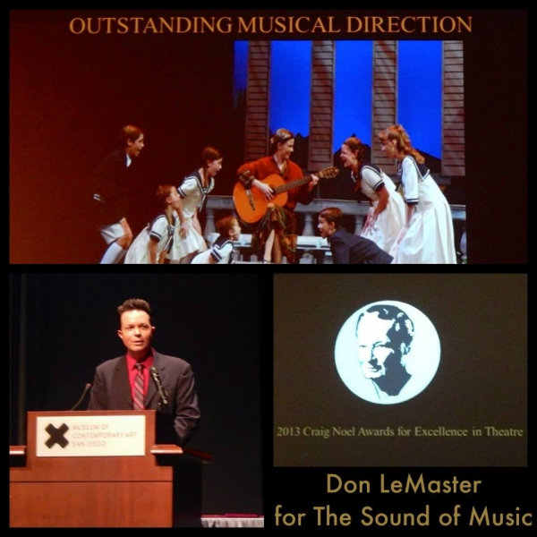 Photo Flash: San Diego Musical Theatre Celebrates 2013 Season With SDTCC Craig Noel Awards, Announces 2014 'Season of Musicals'